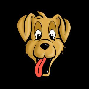 Hund comicstyle