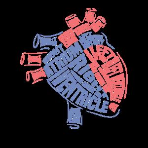 Herz Anatomy Cardiologie Krankenschwester Geschenk