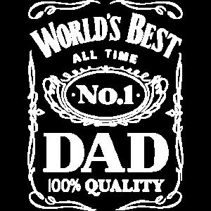 No. 1 Dad - Vatertag - Dad - Shirt