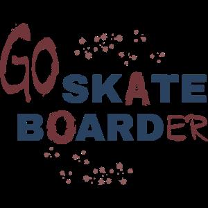 Go skate Boarder - Shirt