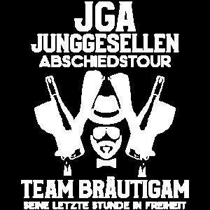 JGA Abschiedstour Bräutigam Junggesellenabschied