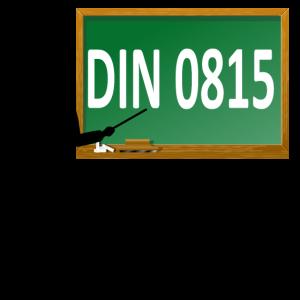 DIN 0815
