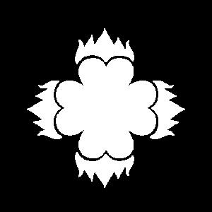 Weisse Herzblume
