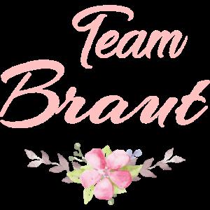 Team Braut Blumen