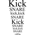 Degiheugi - Kick Snare