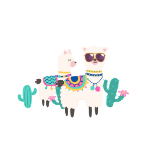 A Whole Llama Learning Going On In 7th Grade