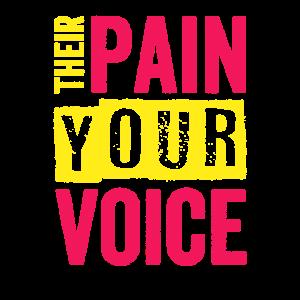 Tierrechtsaktivist Ihr Schmerz Ihre Stimme