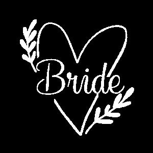 Bride Braut JGA Hochzeit Geschenk Junggesellin