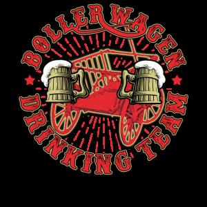 Bollerwagen Vatertag Bier Männertag Geschenk
