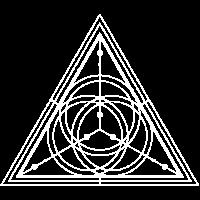 Alchemie Magier Esoterik Rune Dreieck Symbol