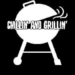 BBQ Chillen Grillen Sommer Barbeque Geschenk