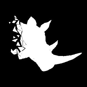 Nashorn geometrisch, origami