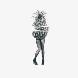 Pineapple - sexy legs