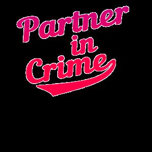 Partner in crime Liebe Partner T-Shirt