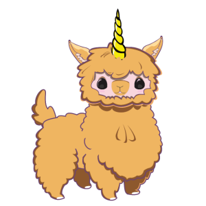 Baby Einhorn Alpaka