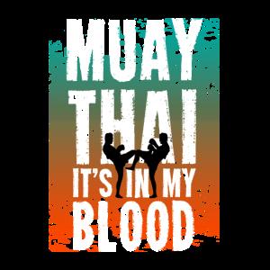 Muay Thai Kaempfer MMA Geschenk