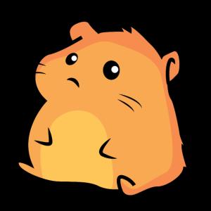 Pummeliger kleiner Hamster
