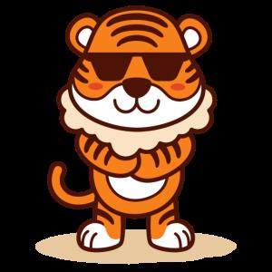 Cooler Tiger