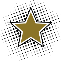 Star, Dots, Hero, Winner, Champion, Member, Team,