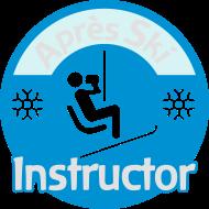 ApresSki-Shirt: Après-Ski Instructor