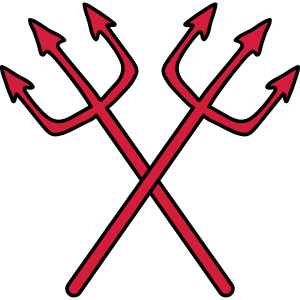 Teufel 2 Dreizack Waffen Stechen