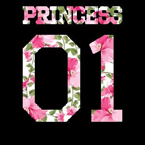 Princess 01 Shirt Blumen Flowers