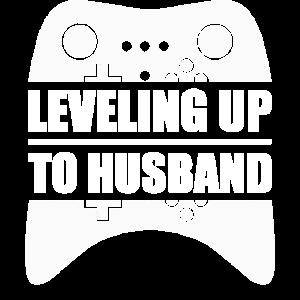 Junggesellenabschied JGA Leveling Up To Husband