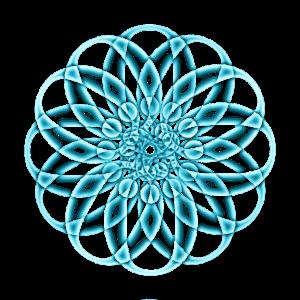Atomkern Mandala