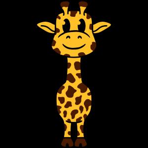Süßes Niedliches Kleines Giraffen Baby Kind