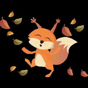 Sammy das Eichhörnchen