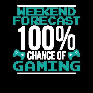 Wochenendprognose 100% Chance auf Zocken