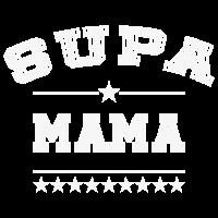 SUPA Mama Logo Super Mama Mutter Superheldin ws