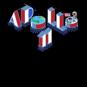 Apollo 11 Briefdesign zum 50. Geburtstag von