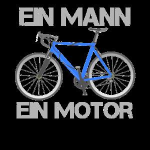 Ein Mann, Ein Motor - Fahrrad Rennrad fahren