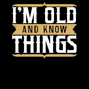 Geschenk für Opa Oma Senioren Klug Weise Smart