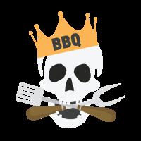 BBQ GRILL SKULL
