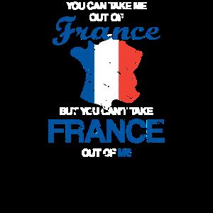 Frankreich Flagge Lustiger Spruch