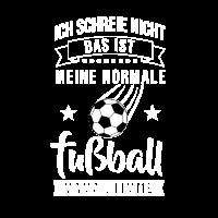 Fußball Mama Fußballer Tor Stürmer Ball Geschenk