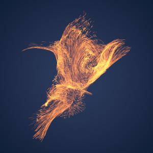 Der Flug des Phoenix blau