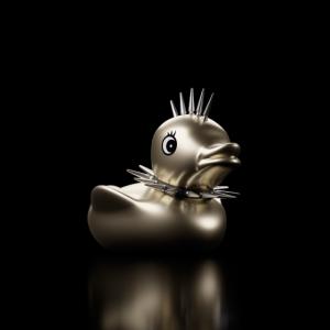Gothic Duck Hochformat