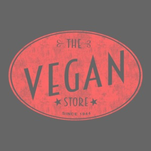 The Vegan Store - Vintage Store Logo design