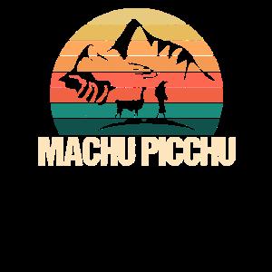 Weinlese Machu Picchu Peru Andenken