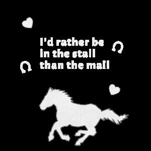 Stall Pferd Pferdeliebe Reiten Einkaufszentrum
