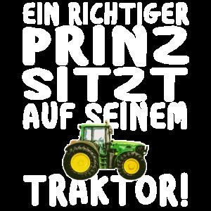 Traktor Schlepper Landwirt Junge Bauer Fahrzeug