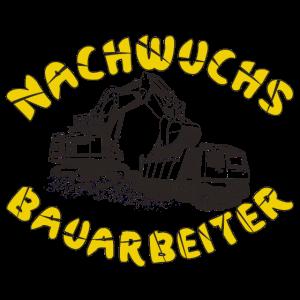 Bagger Bauarbeiter Schaufelbagger Baggerfahrer