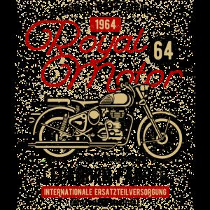 Royal Motor Original Ostfabrikat Motorrad 1964