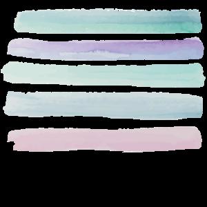 Wasserfarbenstriche