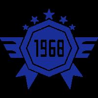 1968 Jahre Jubiläums-Logo Datum