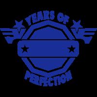 addieren Jahr years perfection logo 2
