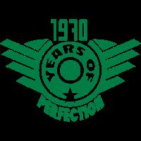 1970 years perfection logo anniversaire